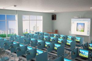Phòng Học Ngoại Ngữ Đa Năng