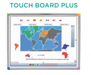 Bảng Tương Tac Einstruction Touch Board Plus