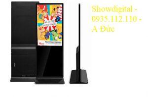 Màn hình quảng cáo chân đứng 55 inch AVN-QC55SITW (có cảm ứng – Windows)